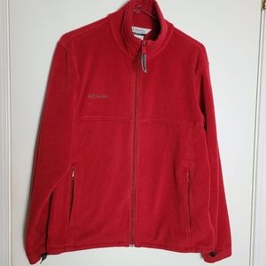 Columbia Full Zipper Fleece Jacket Warm Layer